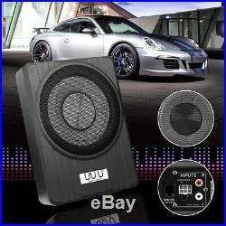 10'' 600W 12V Under-Seat Powerful Car Subwoofer Speaker Bass Audio Amplifier