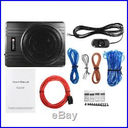10 Inch 600W Car Under-Seat Subwoofer Active Powered Amplifier Bass Enclosed New