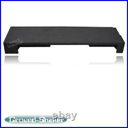 1988-1998 GMC Sierra Extended-Cab 12 Dual Sealed Subwoofer Enclosure Sub Box