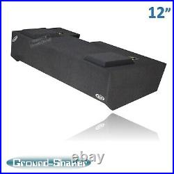19-2020 Chevy Silverado CREW CAB 12 Dual Sub Box Subwoofer Enclosure Solo Baric