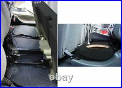 2001-2007 Gmc Sierra 1500Hd Crew Cab Dual 12 Subwoofer Enclosure Custom Sub Box