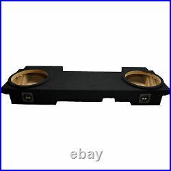 2002-2013 Cadaillac Escalade Ext Stereo Dual 12 Subwoofer Enclosure Sub Box New