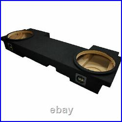 2002-2013 Chevy Avalanche Custom Fit Dual 12 Stereo Subwoofer Enclosure Sub Box