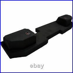 2002-2015 Fits Dodge Ram Quad Crew Cab Custom Dual 12 Subwoofer Speaker Sub Box
