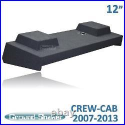 2008 2009 2010 Chevy Silverado Crew Cab 12 Subwoofer Box Enclosure Solo Baric