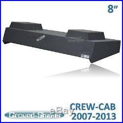 2008 2009 2010 Chevy Silverado Crew Cab 8 Subwoofer Box Enclosure Solo Baric