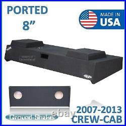 2008-2009 Chevy Silverado Crew Cab 8 Dual Ported Sub Box Subwoofer Enclosure