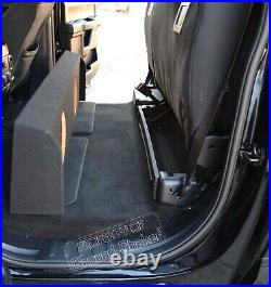 2009-2019 Ford F150 Crew Cab 12 Dual Sub Box Subwoofer Enclosure Speaker Box