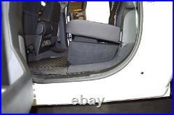 2014-2018 Chevy Silverado Crew Cab Sub Box 10 Dual Subwoofer Enclosure BLUE