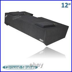 2019-2020 Gmc Sierra CREW CAB 12 Dual Sub Box Subwoofer Enclosure Solo Baric