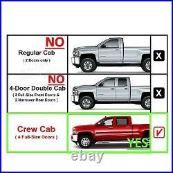 2019-2021 Chevy Silverado Crew Cab Truck Sub Box 10 Single Subwoofer Enclosure
