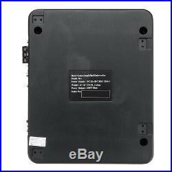 6x9 12V 600W Under Seat Subwoofer Car Active Bass Box Audio Power Amplifier