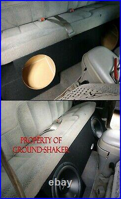 88-1998 Chevy Silverado Extended Cab Sub Box 12 Dual Subwoofer Box Enclosure