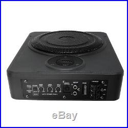 8'' 600W Car Subwoofer and Amp Active Amplifier Under Seat Slim Speaker