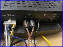 Active underseat subwoofer. Eton Ug 8amplifier Subwoofer & Remote 160