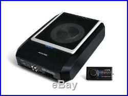 Alpine PWD-X5 Active car subwoofer with 4 channel DSP amplifier and remote