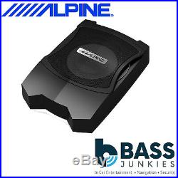 Alpine PWE-V80 160 Watts 8 Inch 20CM Underseat Active Amplified Subwoofer Box