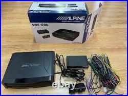 Alpine SWE-1200 8 150W Compact Active Underseat Subwoofer Built in Amp Ex-Demo