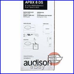 Audison APBX 8 DS 8 (200mm) Prima Series 500Watts Peak 4+4 Ohms Car Subwoofer