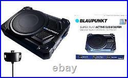 BLAUPUNKT 2.5 Tall Super Slim Single 10 Active Under Seat Subwoofer 200 WATTS