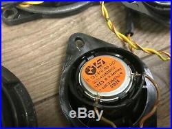 Bmw Oem E60 525 528 530 535 545 550 M5 Front & Rear Speaker Speakers Logic 7 Set