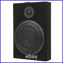 Car Subwoofer Speaker 8in UnderSeat Power Amplifier Bass Loudsperker Box 12V