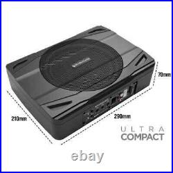 Car Van Audio Amplified Active Subwoofer 20cm 8 Ultra slim to fit in all cars