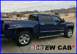 Chevy Silverado Crew cab 2016 2017 10 Single Ported Sub box Subwoofer Enclosure