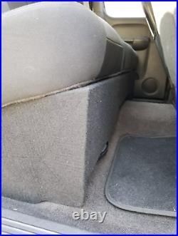 Chevy Silverado Double/Extended Cab Truck 10 Ported Sub Box Subwoofer Enclosure