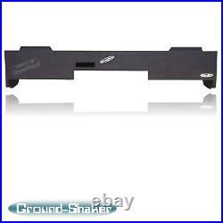 Chevy Silverado Double/Extended Cab Truck 12 Ported Sub Box Subwoofer Enclosure