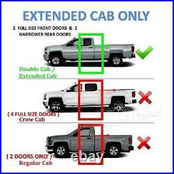 Chevy Silverado Extended Cab 2007-2018 12 Dual Sub Box Subwoofer Enclosure