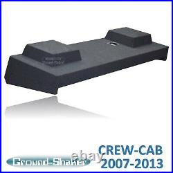 Chevy Silverado & Gmc Sierra Crew Cab 12 Ported Sub Box Subwoofer Enclosure