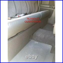 Chevy Silverado & Gmc Sierra Extended cab 12 Ported Sub woofer Box + Amp kit