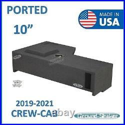 Dodge Ram Crew Cab 1500 2500 3500 2019-2021 10 Sub box Subwoofer Enclosure