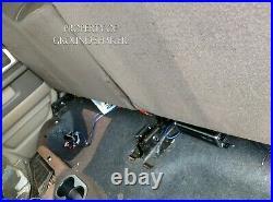Dodge Ram Crew-Cab 2002-2018 8 Dual Sub Box Subwoofer Enclosure Ground Shaker