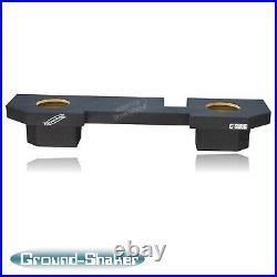 Dodge Ram Quad Cab 1500 2500 3500 2002-2018 8 Dual Sub Box Subwoofer Enclosure