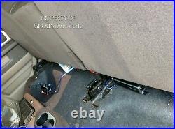 Dodge Ram Quad-Cab 2002-2018 8 Dual Sub Box Subwoofer Enclosure Ground Shaker