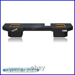 Dodge Ram Quad Cab 8 Dual Kicker Solo Baric Sealed Sub Box Subwoofer Enclosure