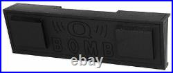 Dual 10 Subwoofer Sub Box For 2007-2013 Chevy Silverado/GMC Sierra Crew Cab