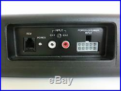 ETON USB 6.2 16 cm 6 UNDERSEAT UNTER SITZ AUTO KFZ SUB WOOFER 320 Watt NEU