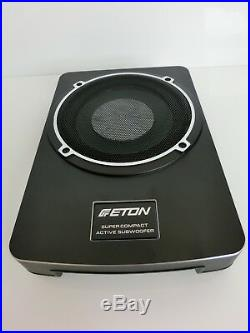 ETON USB 8 20cm 8 UNTERSITZ UNDERSEAT AUTO KFZ FLAT SUB WOOFER 160 Watt NEU