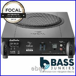 Focal BUSI20 iBus20 8 150 Watts Active Underseat Car Bass Enclosure Subwoofer