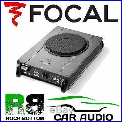 Focal BUSI21 iBus 2.1 8 20cm 150 Watts Active Underseat Car Sub Bass Box Tube