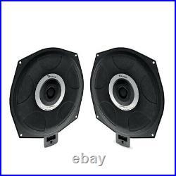 Focal (ISUB BMW-4) Underseat Car Sub Woofer Pair for BMW 1 3 4 5 X3 X5 X6 Se