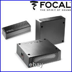 Focal ISUB TWIN Ultra Compact Passive Twin Subwoofers 2×200W with Amplifier Deal