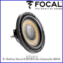 Focal P20FSE 8 Shallow Mount FLAX Evo Car Subwoofer 400W Slim Subwoofer BNIB