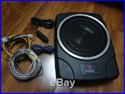 Focal active 10inch under seat car sub subwoofer access bus 25