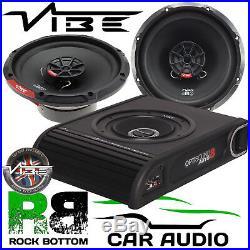 For Toyota Hilux Vibe 900W Underseat Subwoofer & Front Door Car Speaker Kit