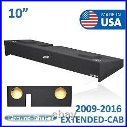 Ford F-150 Ext-Cab / F-150 Extended Cab 10 Dual Sub Box Subwoofer Enclosure