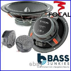 Ford Transit MK8 2014 Focal Underseat Sub & 6.5 Component Speaker Upgrade Kit